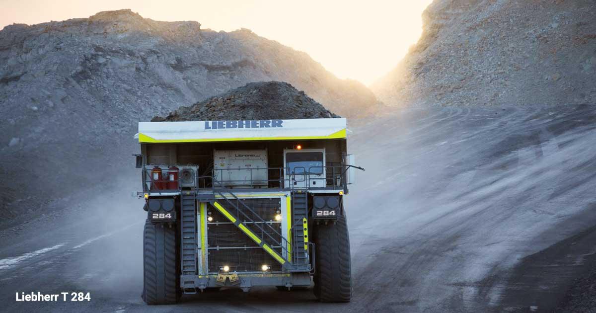 کامیون معدنی Liebherr T 284