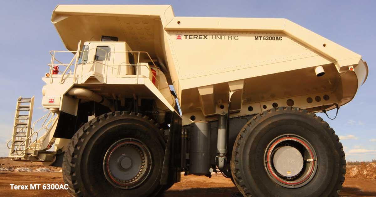 کامیون معدنی Terex-MT-6300AC
