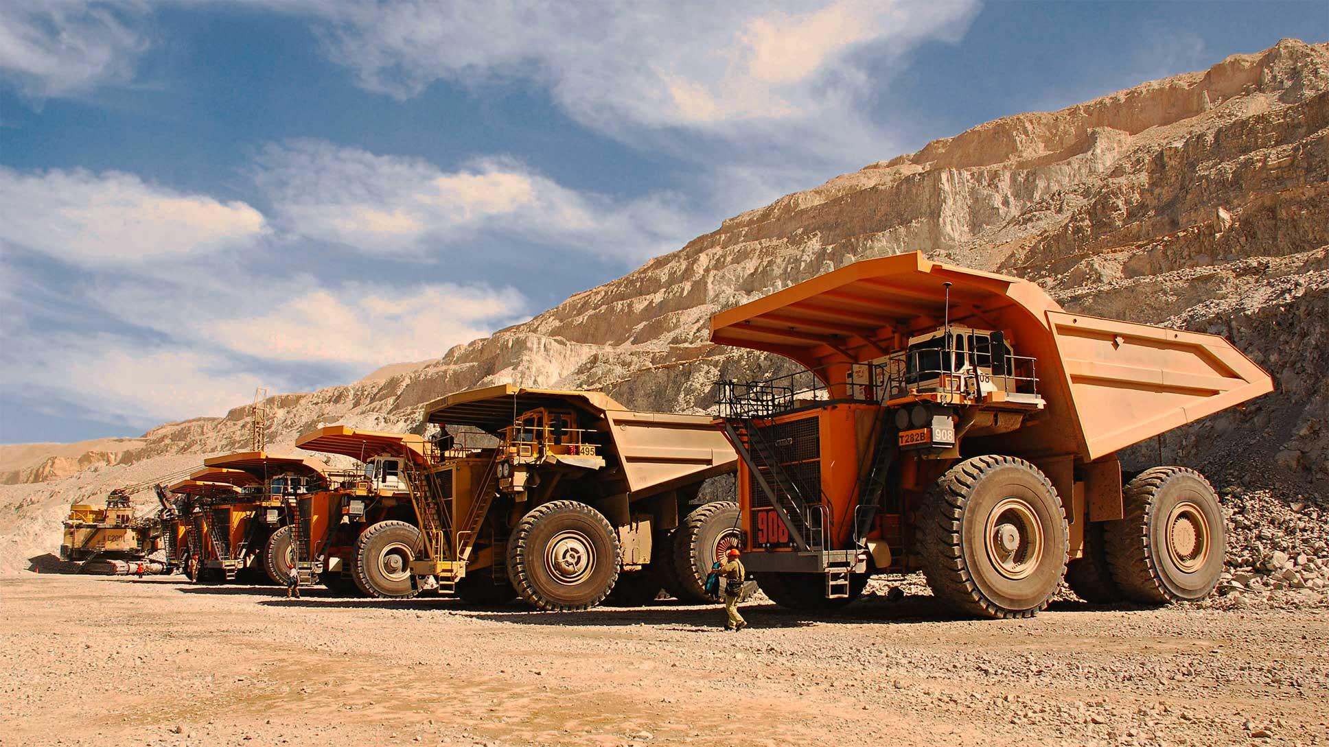 بزرگترین کامیون های معدنی جهان